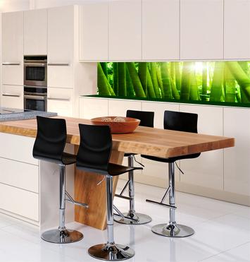 Rückwand küche glas  Küchenrückwand Glas
