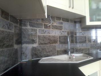 Küchenrückwand alu dibond  Referenzen | Küchenrückwand